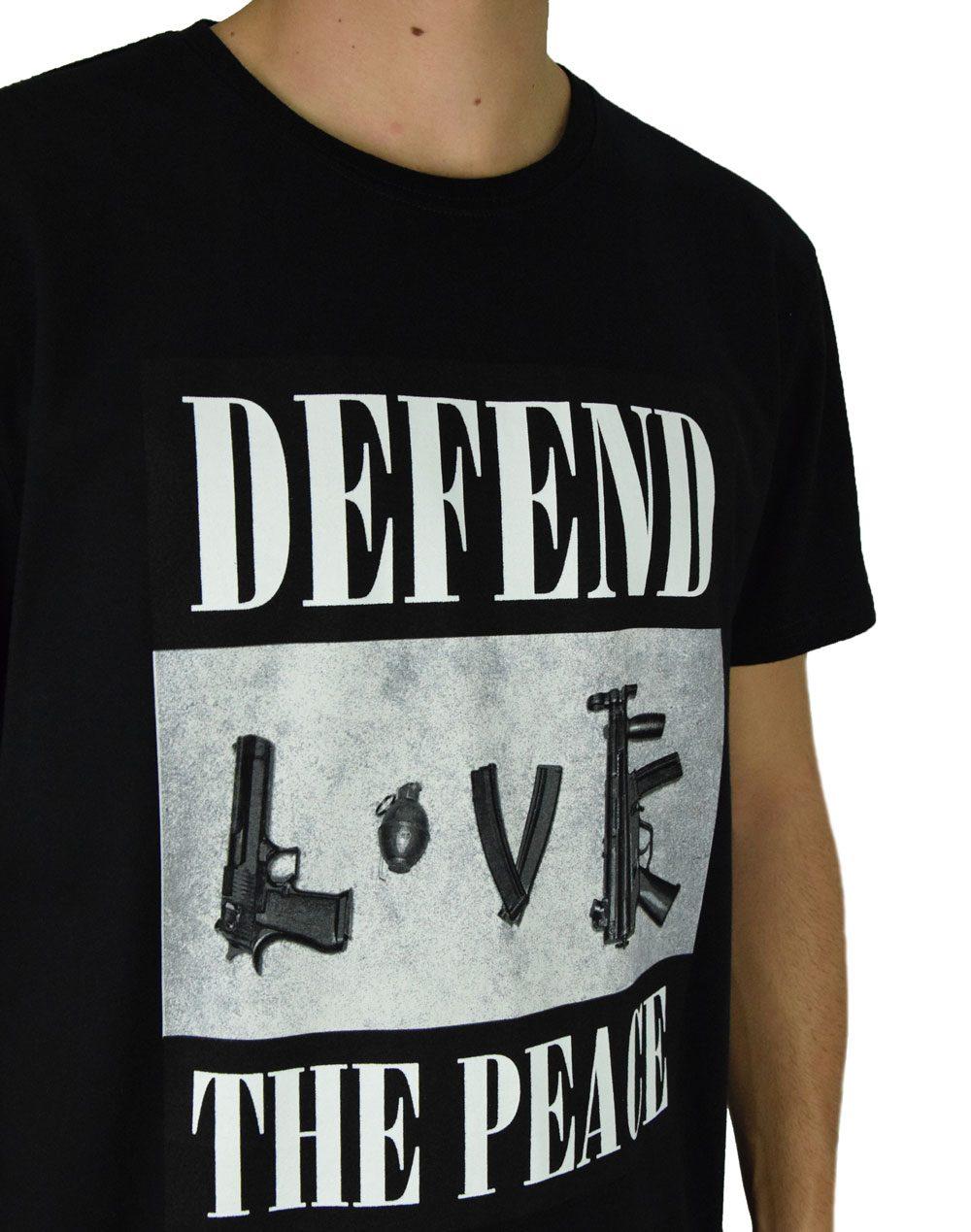 Defend Paris Peace Tee Arme (PEACTEARX19) Black