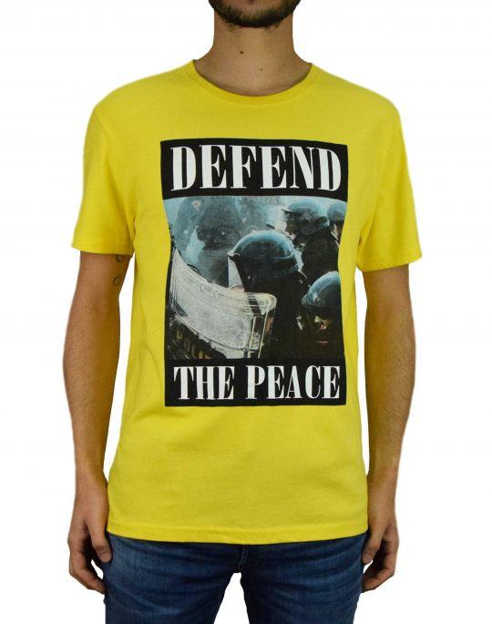Defend Paris Peace Tee Crs (PEATECRSX19) Yellow