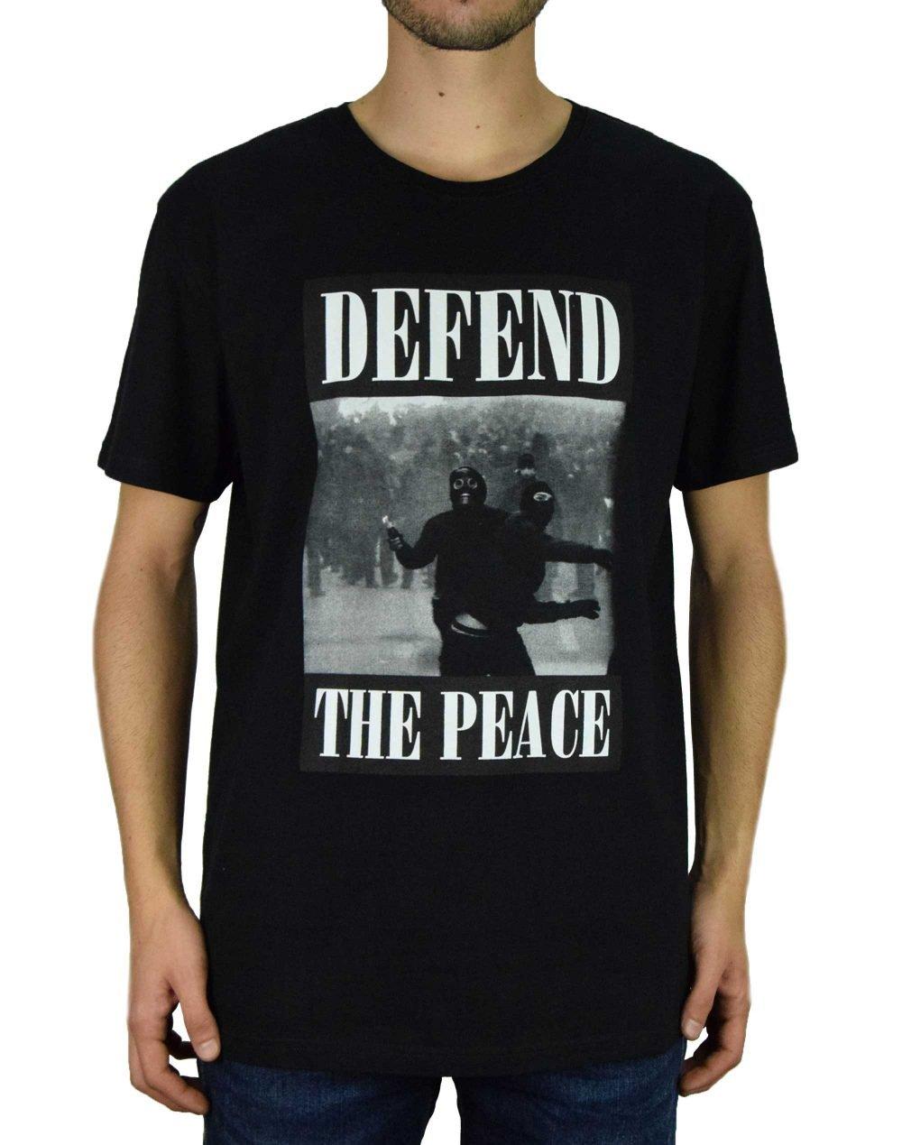Defend Paris Peace Tee Guerre (PETEGUERX19) Black