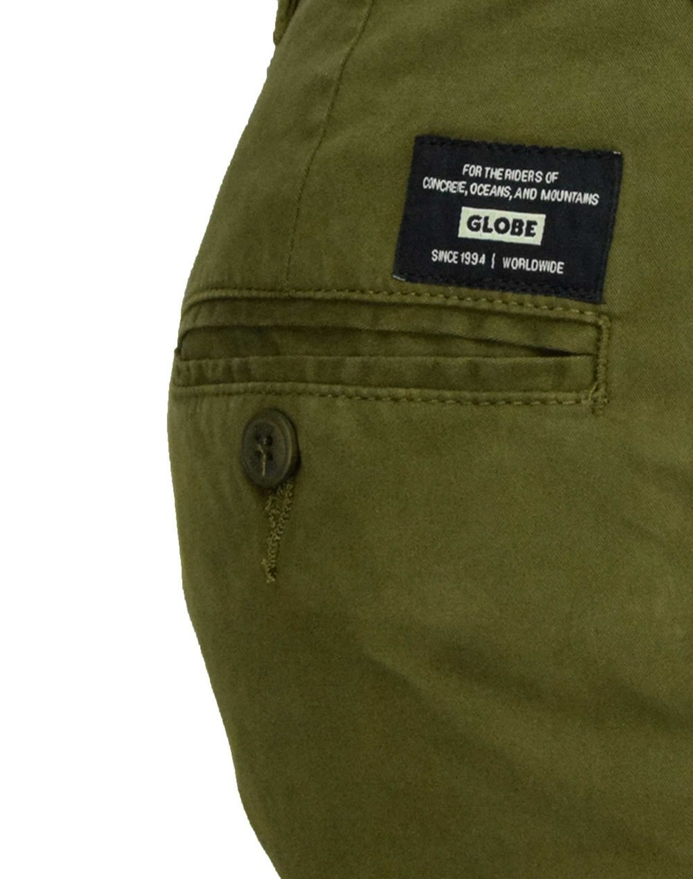 Globe Goodstock Chino Pant (GB01216010) Forest Green