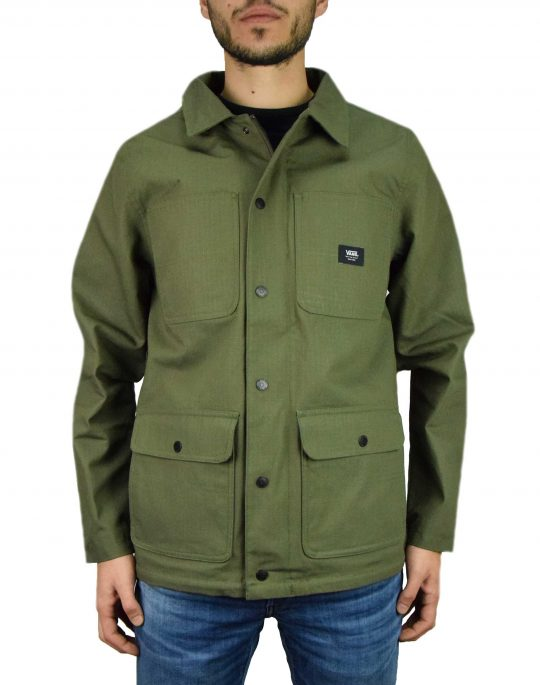 Vans Drill Chore Coat Lined Ripstop (VN0A47SY5TU1) Grape Leaf