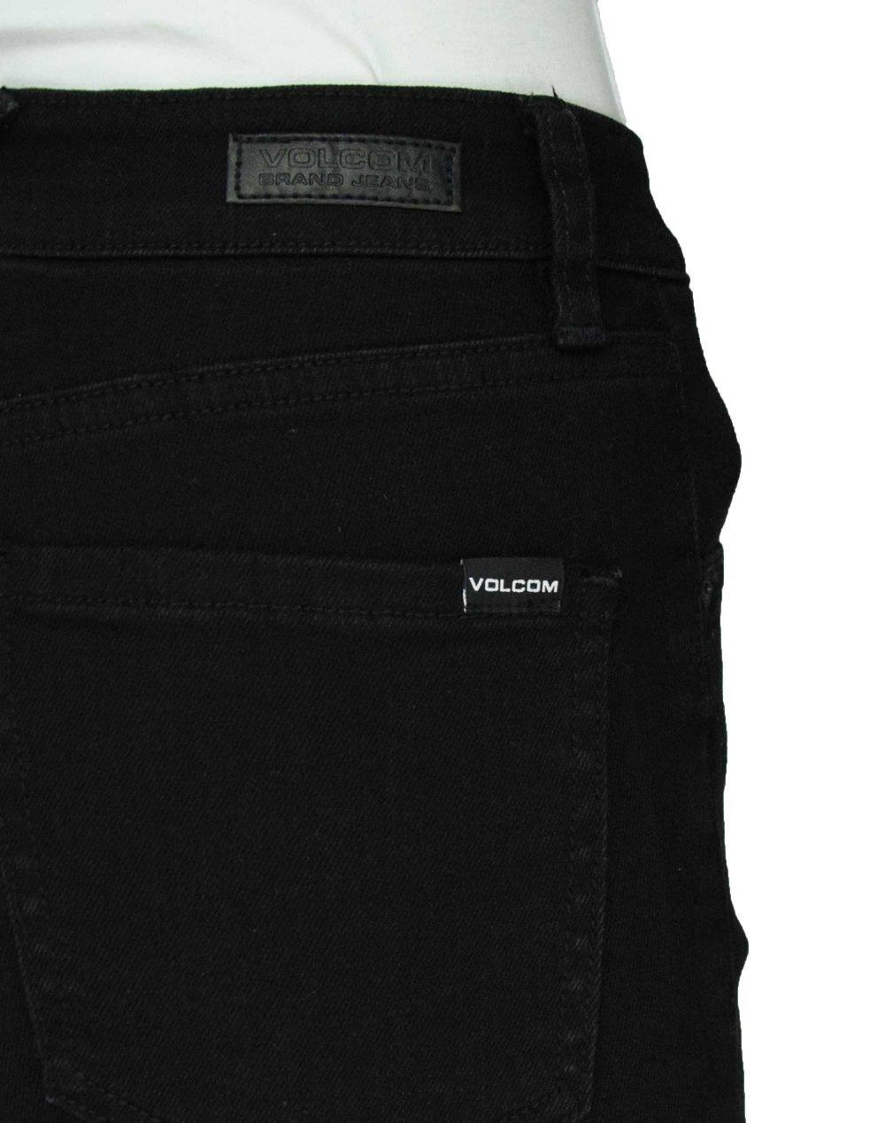 Volcom Liberator High Rise (B1931900 PBK) Premium Wash Black