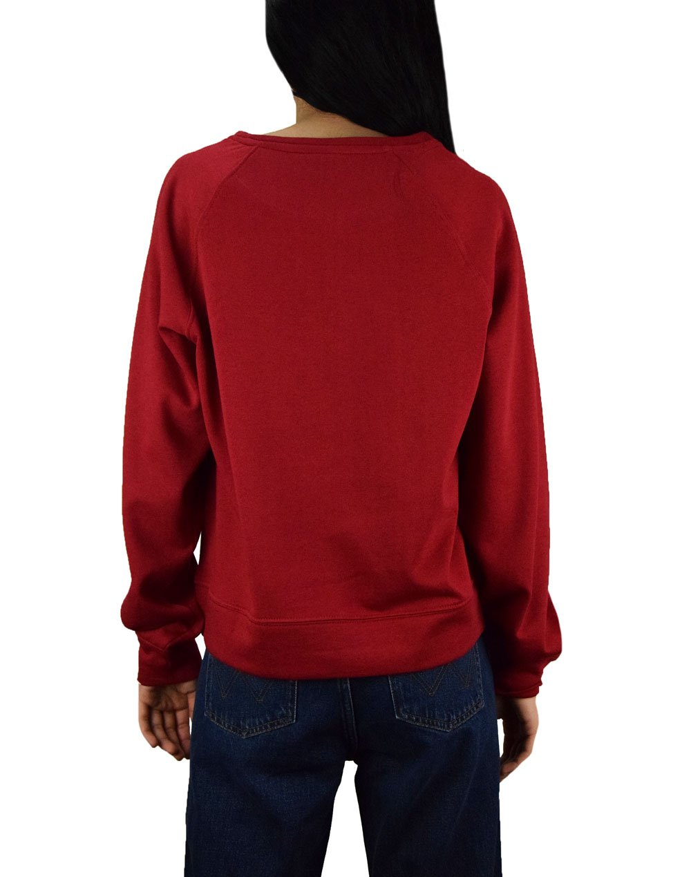 Only Rolling Stones Long Sleeve Box Sweater (15195951) Rio Red