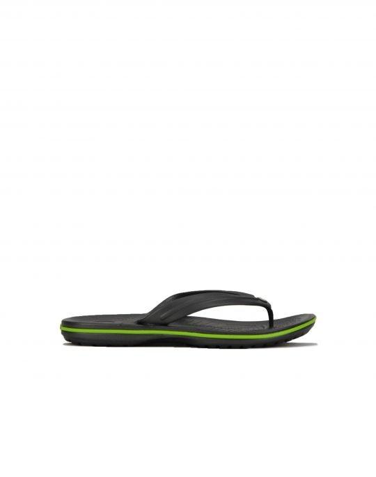 Crocs Crocband Flip (11033-0A1) Graphite/Volt Green