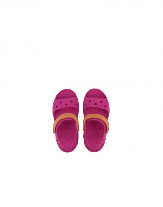 Crocs Crocband Sandal Kids (12856-6QZ) Electric Pink/Cantaloupe