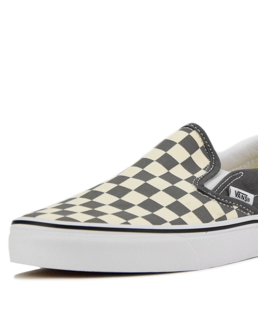 Vans Classic Slip-On (VN0A4BV3TB51) Checkerboard/Pewter-True White