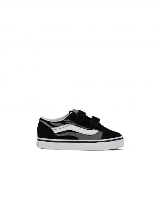 Vans Old Skool Suede Flame (VN0A38JNWKJ1) Black/True White