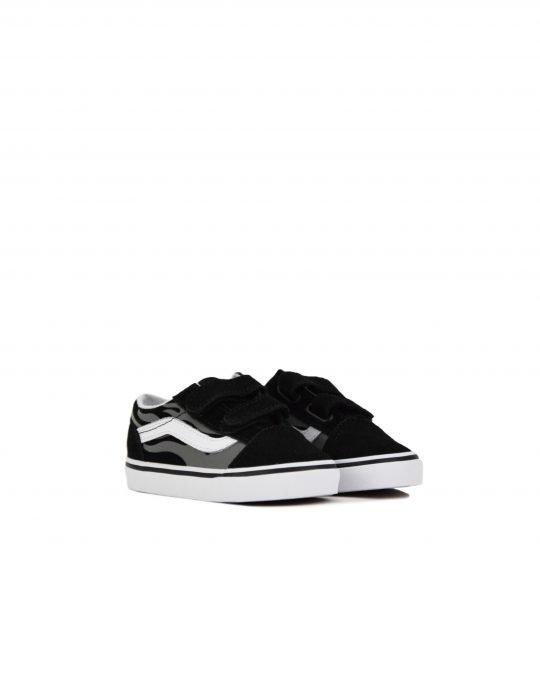 Vans Old Skool Suede Flame (VN0A38JNWKJ1) Black/True White