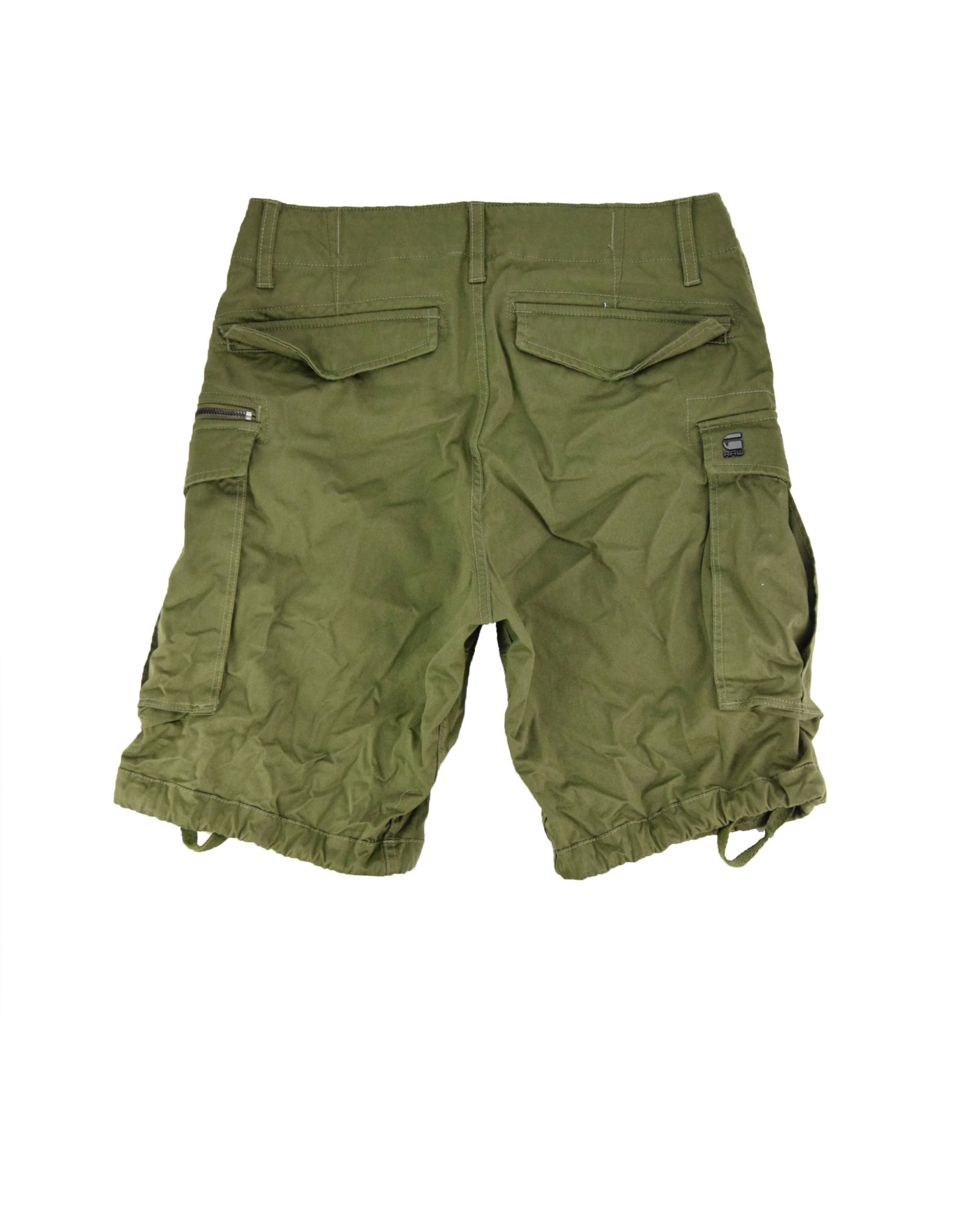 G-Star Raw Rovic Zip Relaxed Shorts (D08566-5126-724) Sage