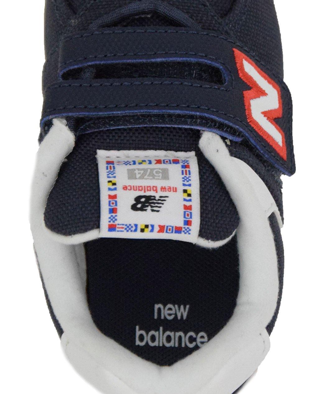 New Balance IV574SOP Navy/White