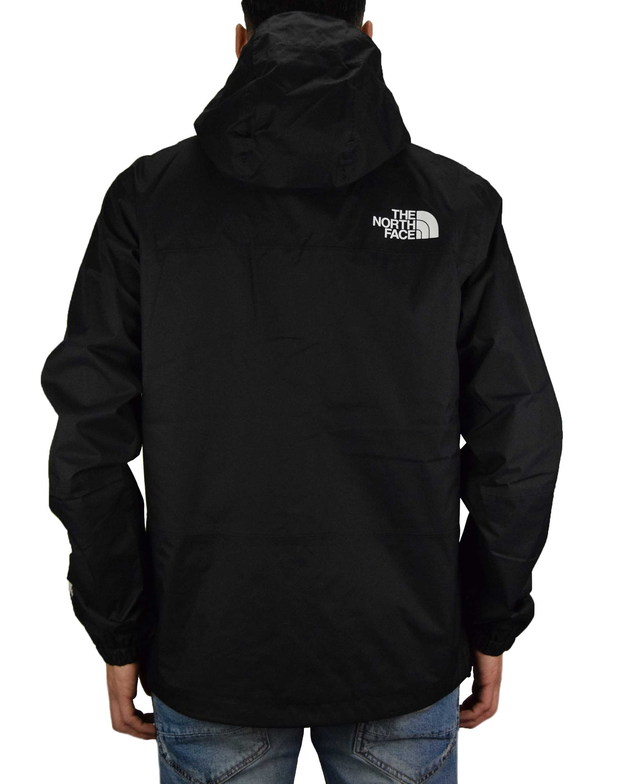 The North Face 1990 Mountain Q Jacket (NF0A2S51NM91) Black/White