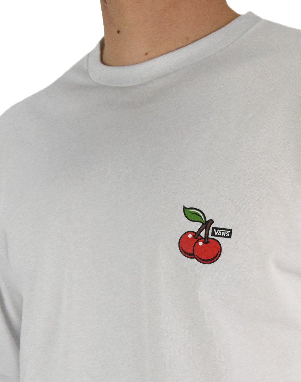 Vans Cherries Tee (VN0A49QOWHT1) White