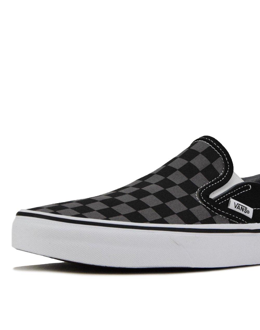 Vans Classic Slip-On (VN000EYEBPJ1) Black/Pewter Checkerboard