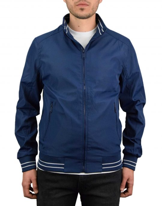 Biston Mens Ultra Light Bomber Jacket (43-201-012) Navy