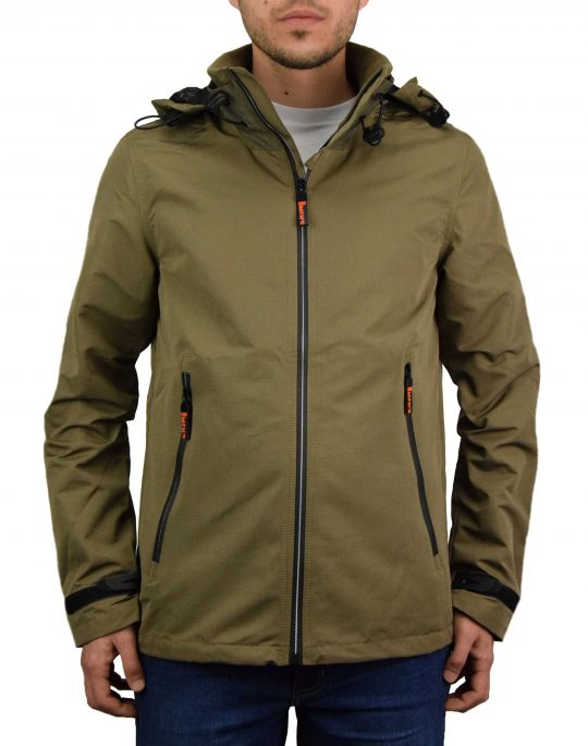 Biston Mens Ultra Light Jacket (43-201-004) Khaki