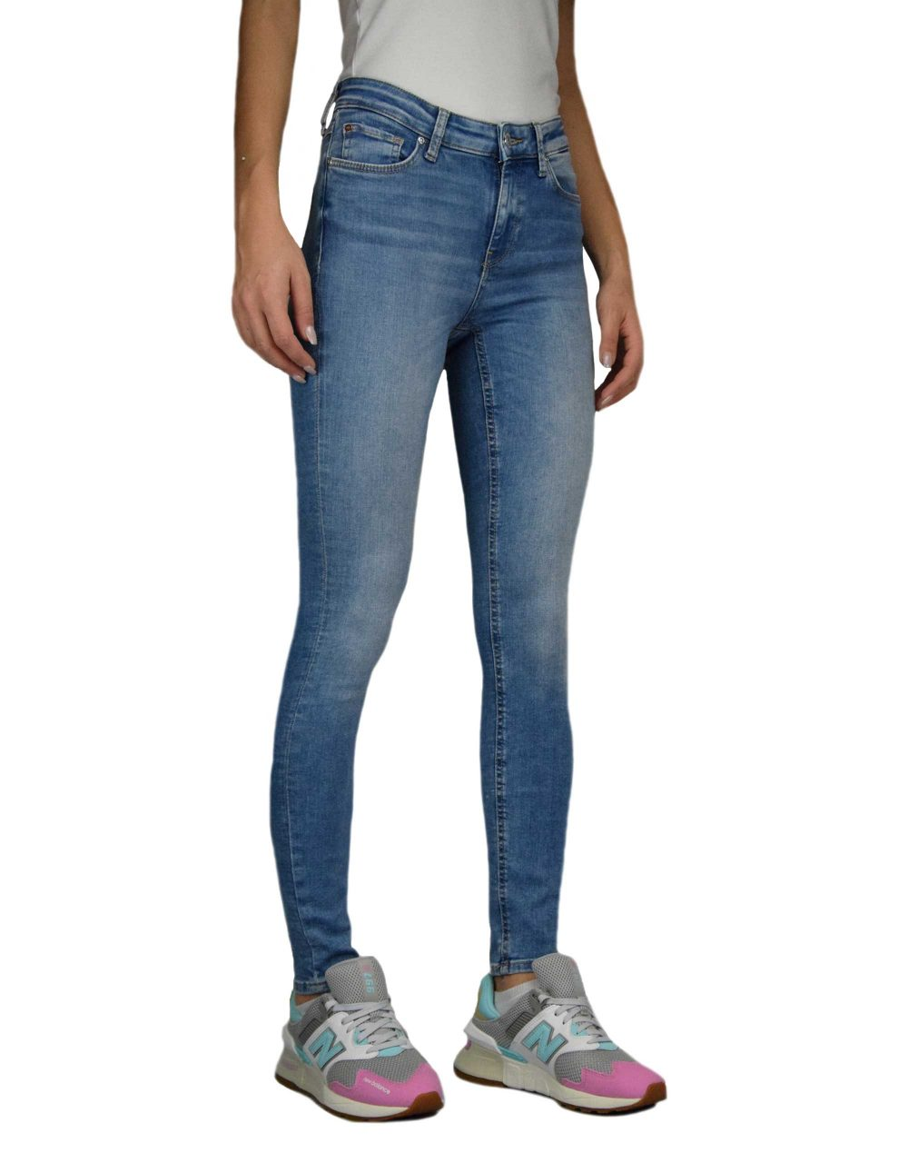 Only Carmen Life Regular Skinny Rea 12599 (15195597) Light Blue Denim