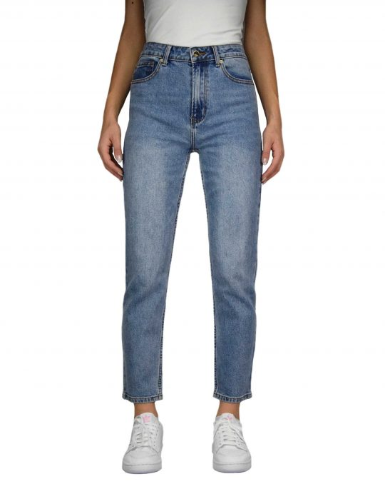 Only Emily High Waisted Straight (15195573) Medium Blue Denim