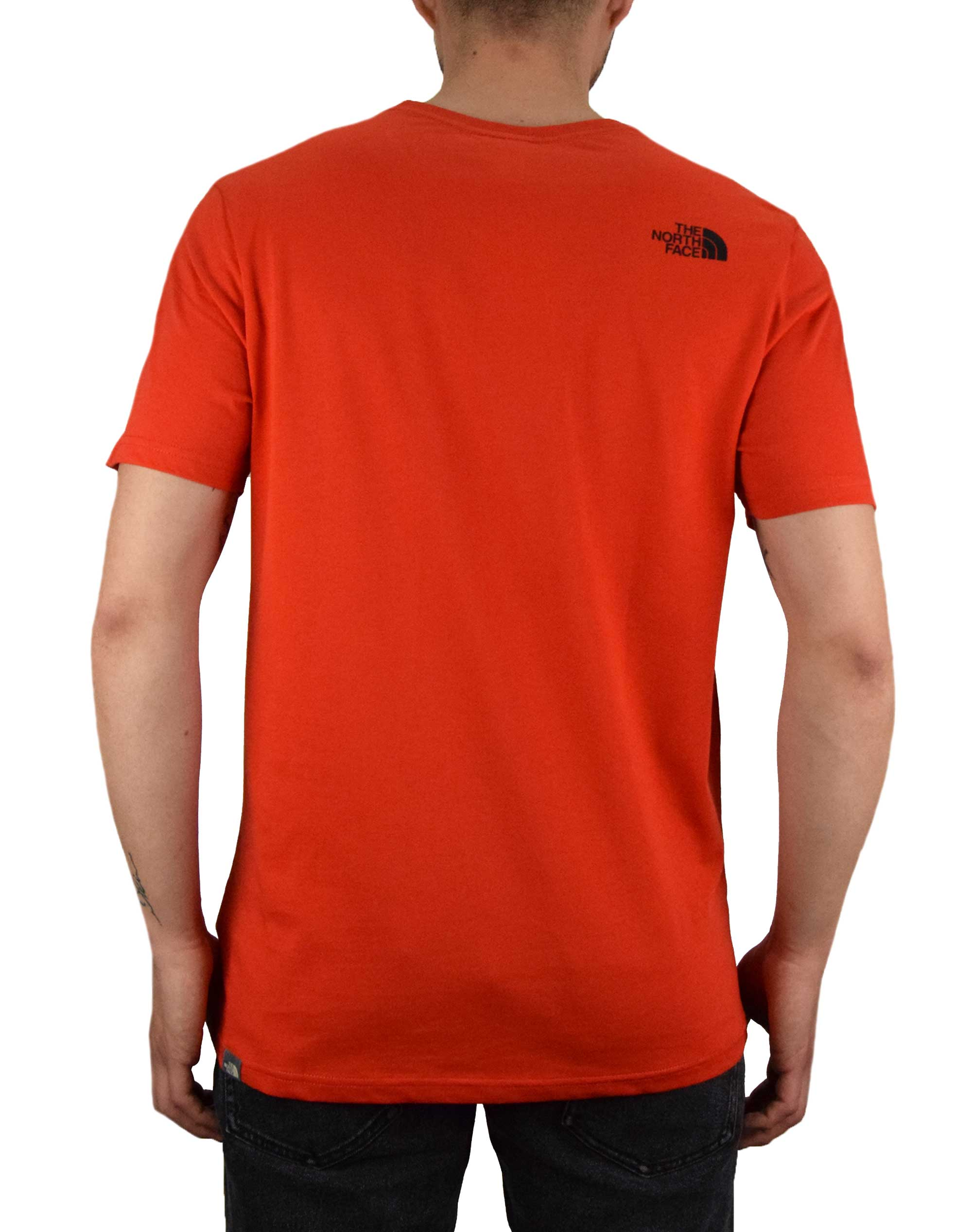 The North Face Easy Tee (NF0A2TX3WU51) Fiery Red/Black