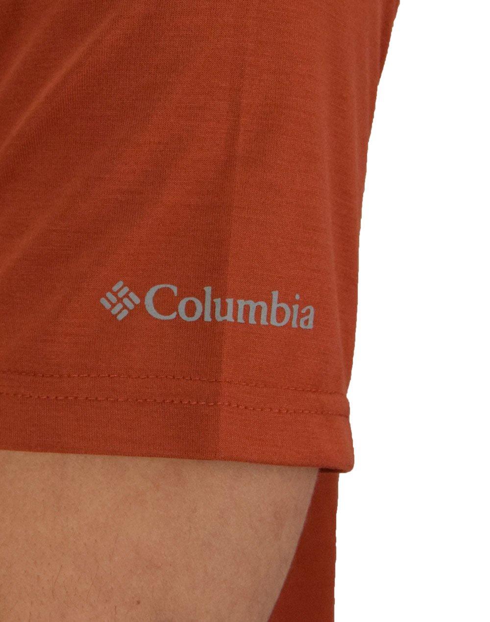 Columbia Terra Vale™ II Tee (EM0404-835) Carnelian Red