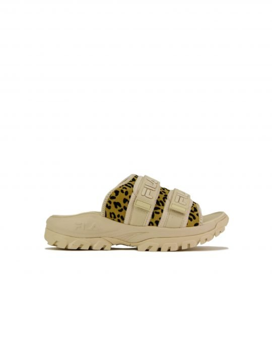Fila Outdoor Slide Animal Print (5SM00537-920) Tapioca/Animal Print