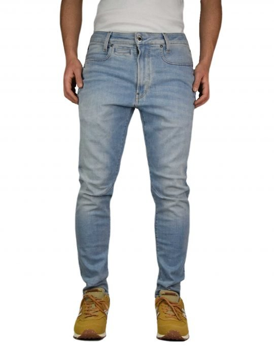 G-Star Raw D-Staq 3D Slim (D05385-C051-B171) Vinatge Striking Blue