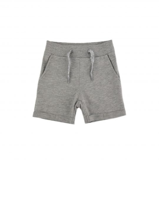 Name It Vermo Long Shorts (13161730) Grey Melange