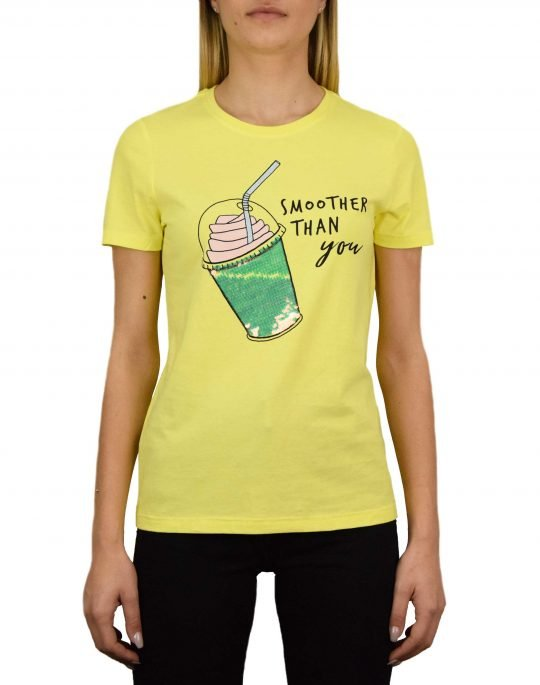 Only Cina Life Seq Top Box Tee (15203528) Limelight/Smoothie