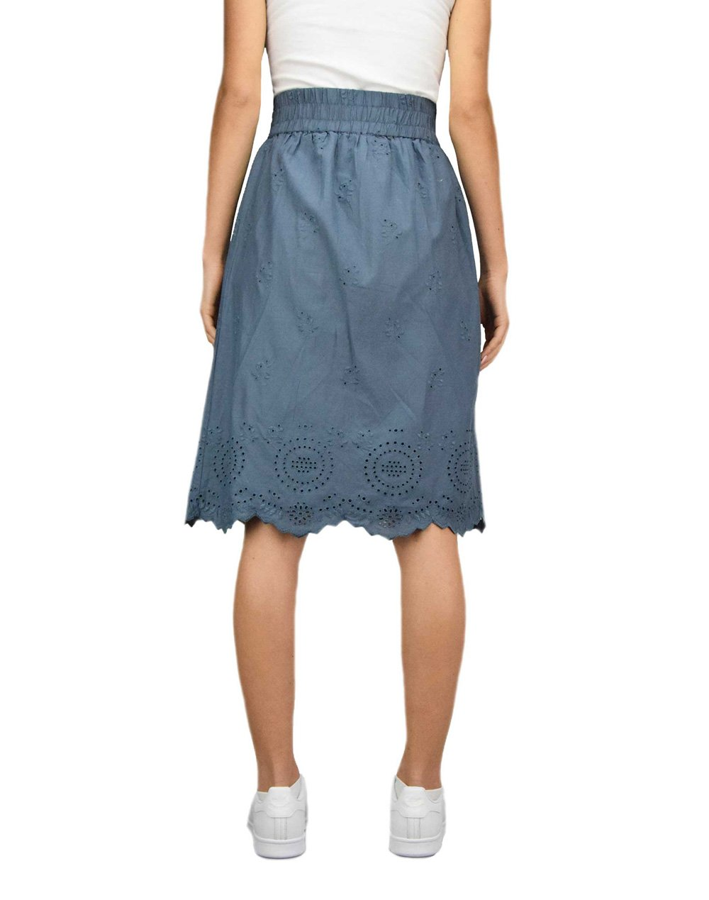 Only Shery Life Midi Skirt (15196516) China Blue