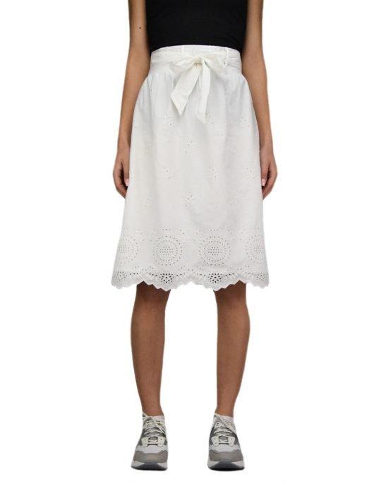 Only Shery Life Midi Skirt (15196516) Cloud Dancer