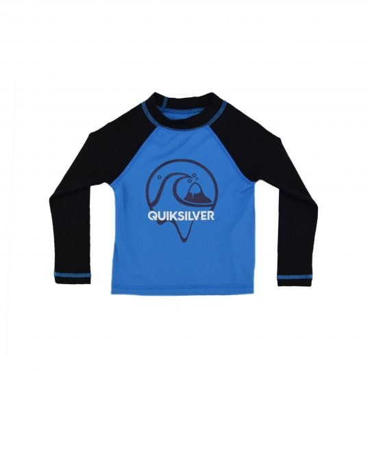 Quiksilver Bubble Dreams Long Sleeve UPF 50 Rash Vest (EQKWR03083-BMM0) Blithe