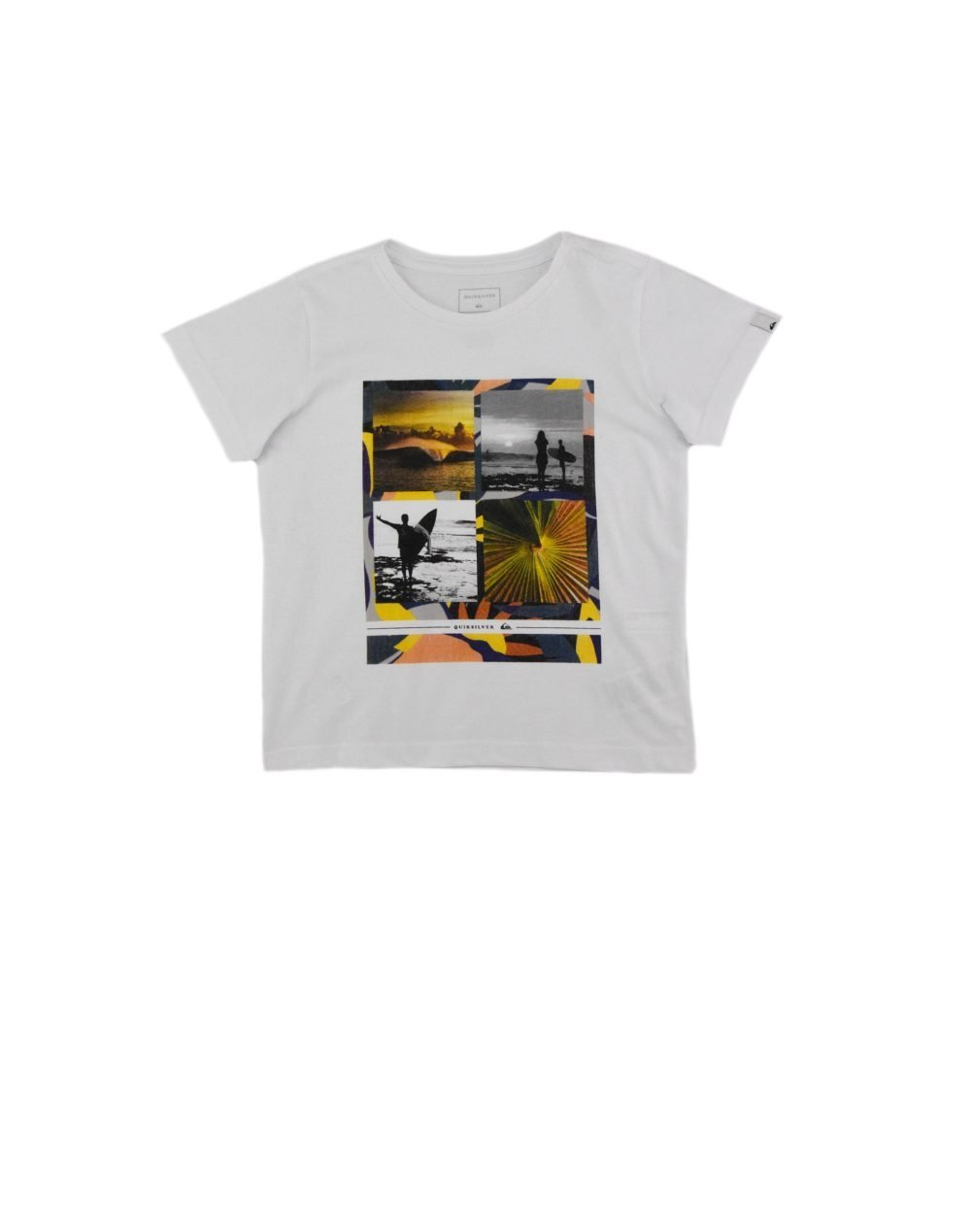 Quiksilver Younger Years Boy Tee (EQBZT04134-WBB0) White