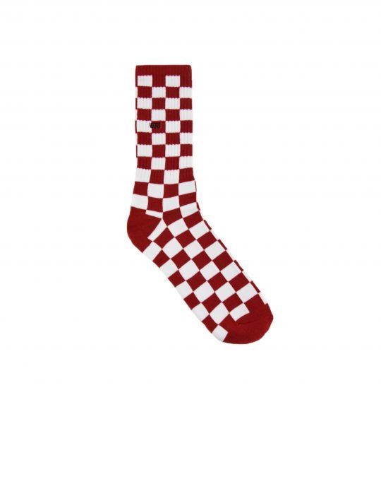 Vans Checkerboard Crew II (VN0A3H3NRLM1) Red/White Check