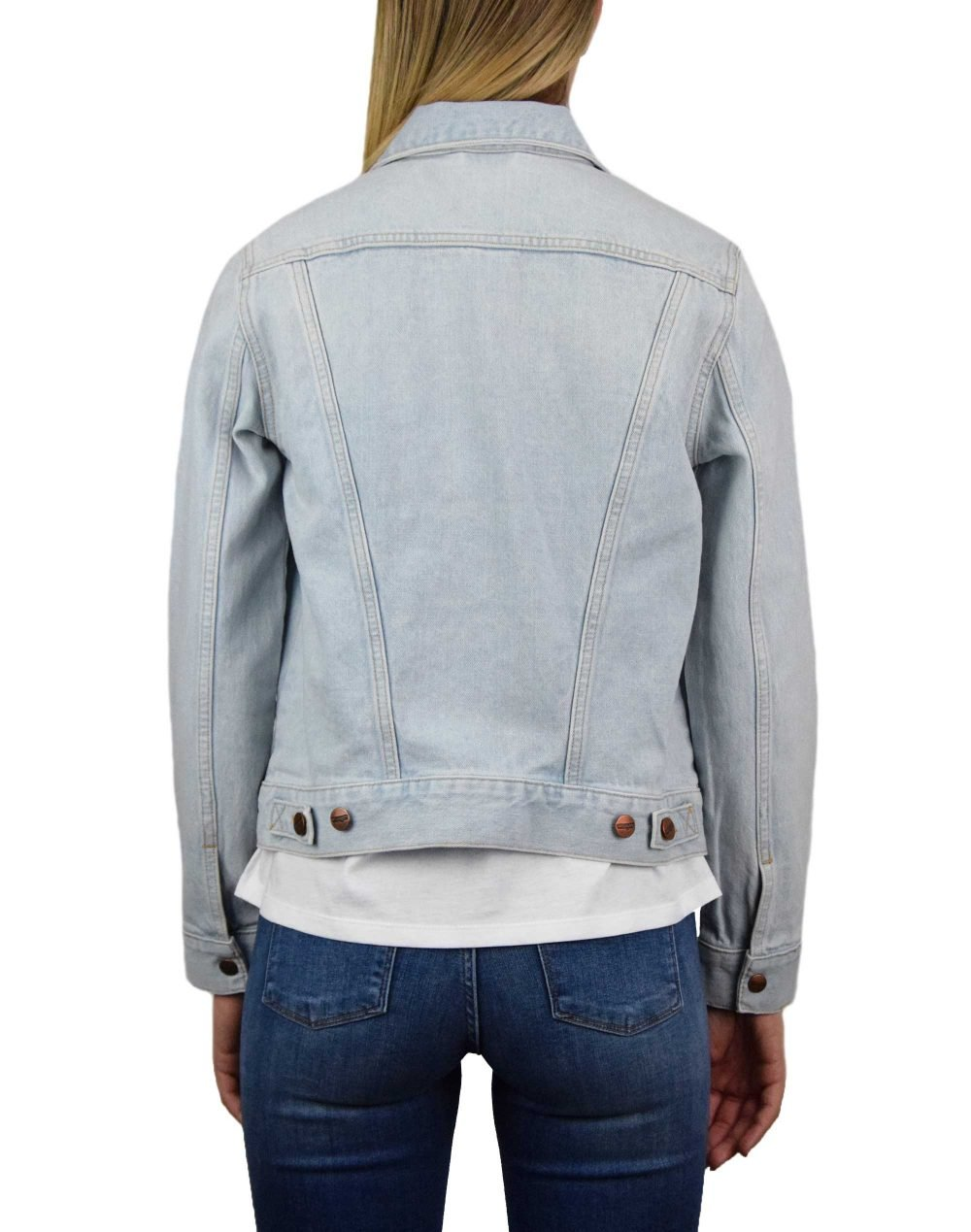 Wrangler Blue Rhapsody Jacket (W4WJUG13I) Bleach Denim