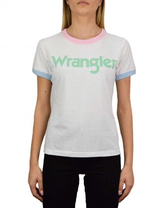 Wrangler Ringer Tee (W7N0EVXW1) Real White