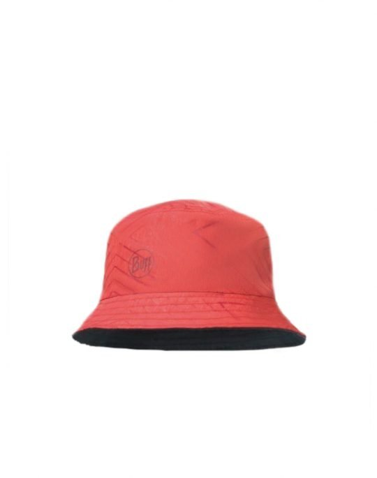 Buff Travel Bucket Hat (117204.425.25.00) Collage Red