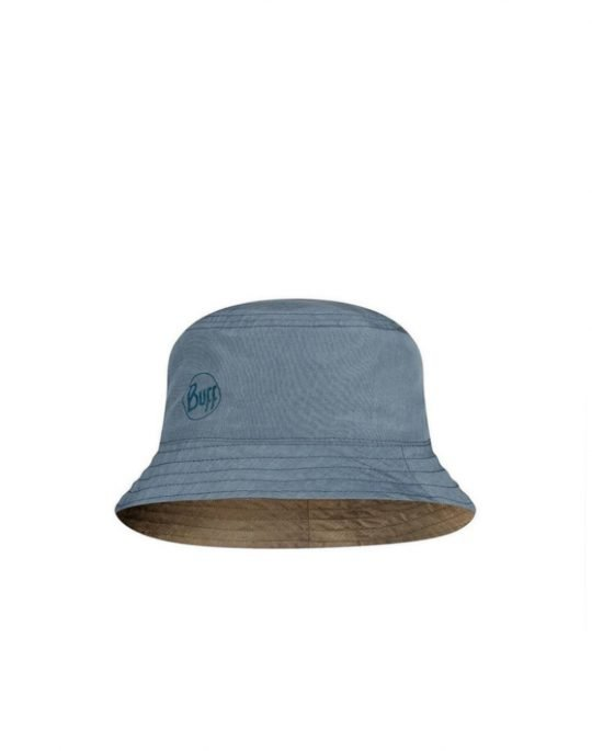 Buff Travel Bucket Hat (122592.707.25.00) Zadok Blue
