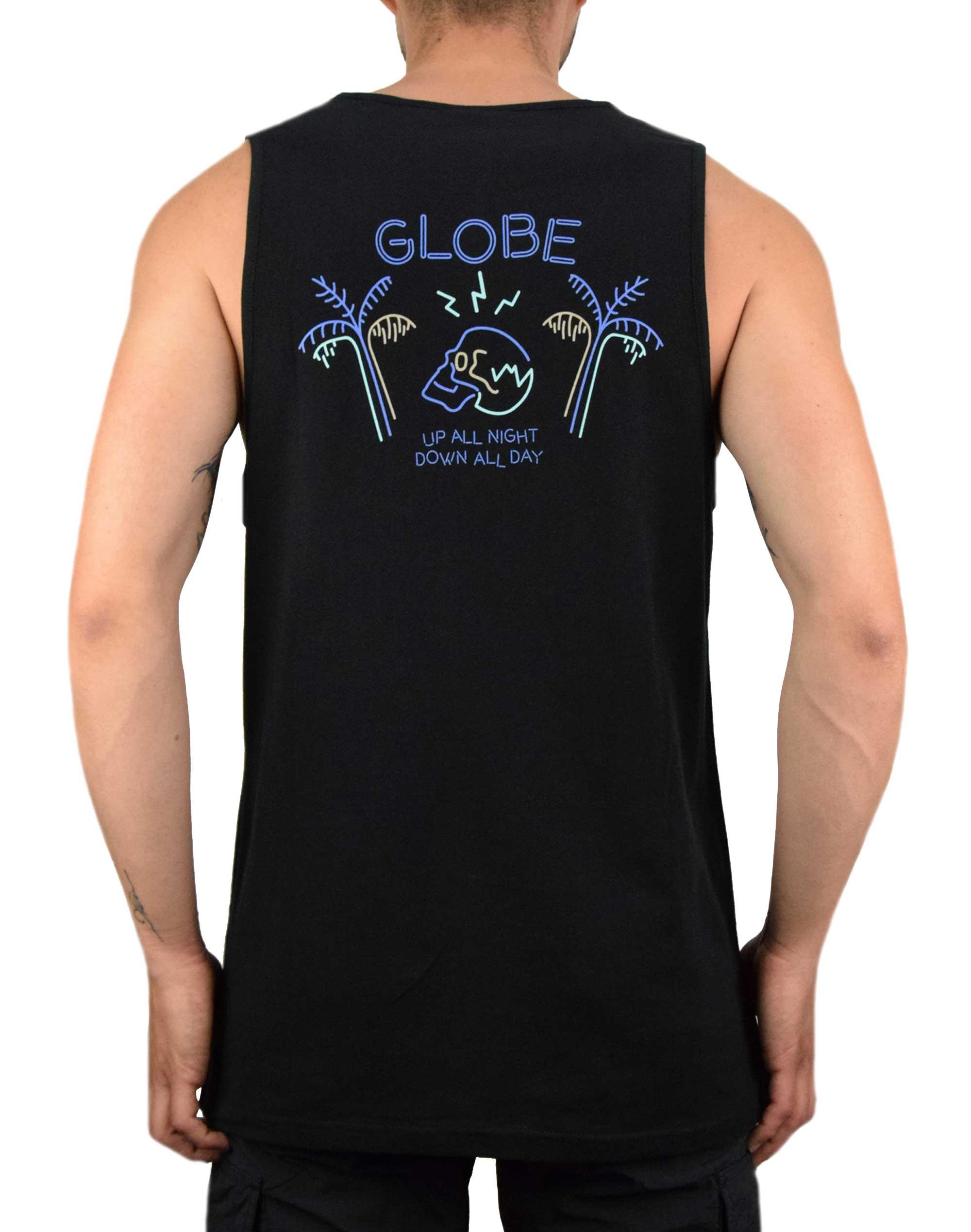 Globe Neon Dreams Singlet Tee (GB01912003) Black