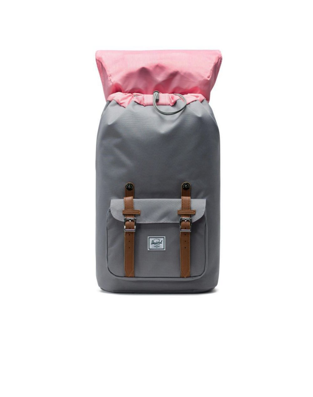 Herschel Supply Co Little America 25L (10014-00006) Grey/Tan Synthetic Leather