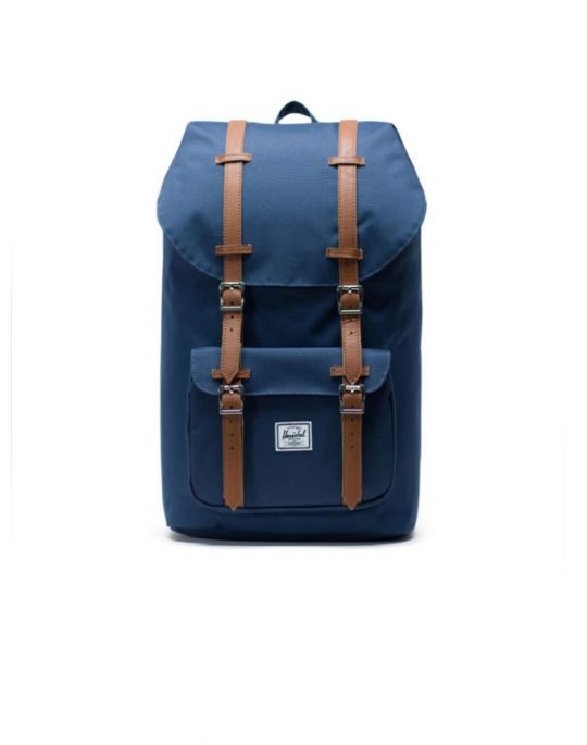 Herschel Supply Co Little America 25L (10014-00007) Navy/Tan Synthetic Leather
