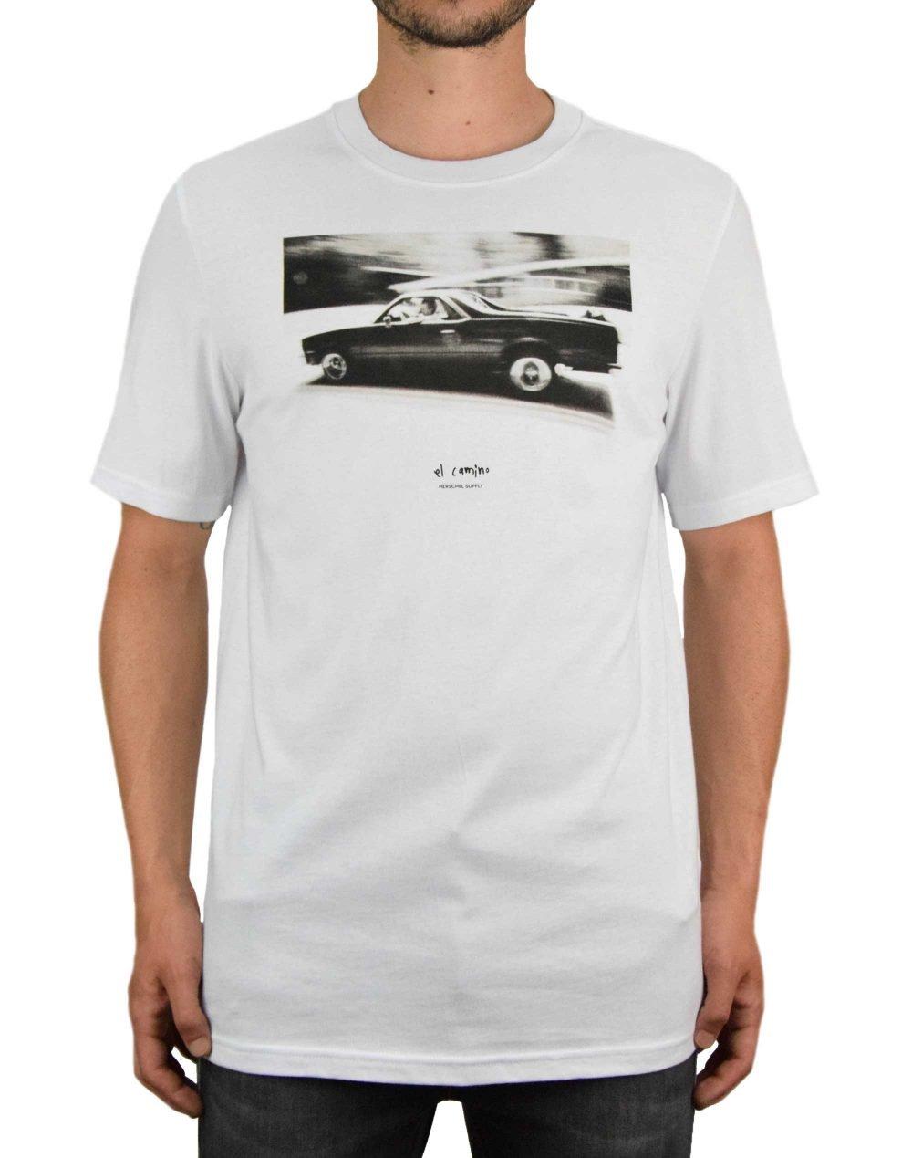 Herschel Supply Co Men's El Camino Tee (50027-00563) Bright White