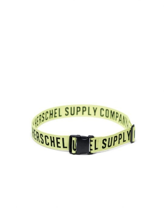 Herschel Supply Luggage Belt (10538-03613) Highlight/Black