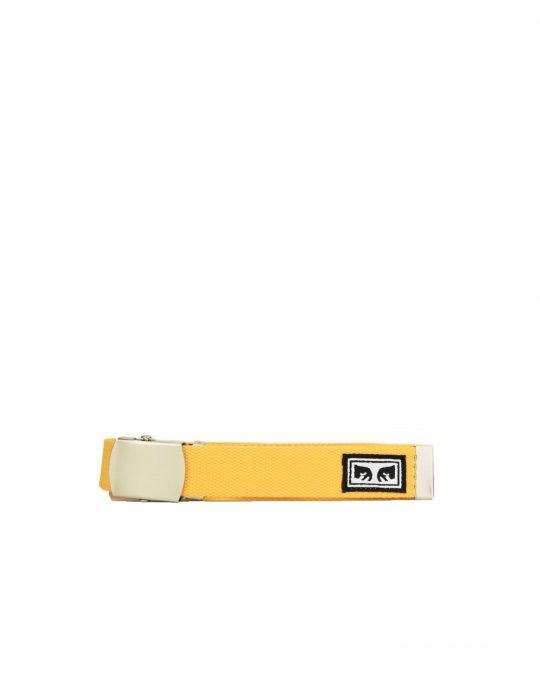 Obey Big Boy Web Belt (100050026) Energy Yellow