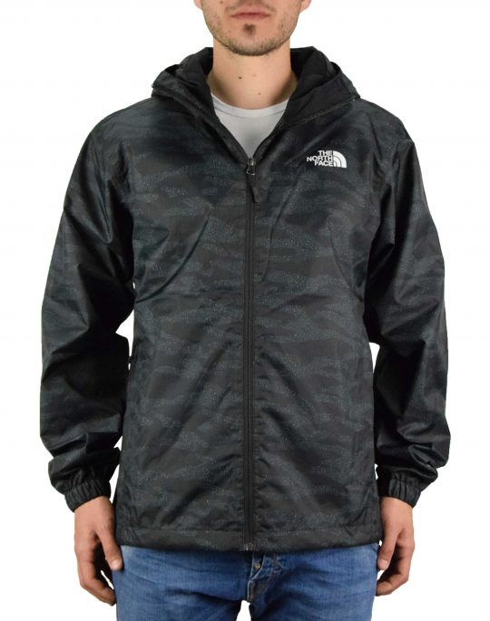 The North Face Quest Jacket (NF00A8AZM461) Black/Dewdrop 2 Print