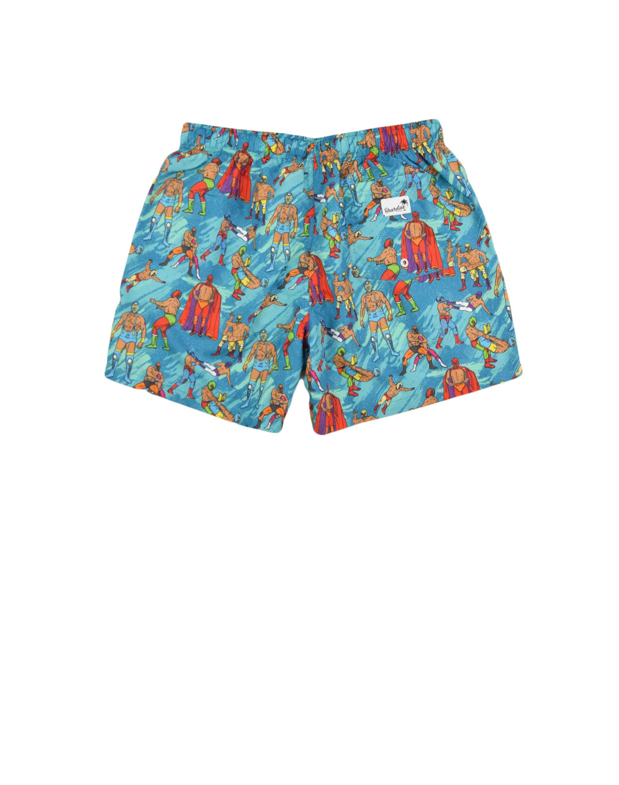 Boardies Mexican Wrestlers Swim Shorts (BS523M) Teal