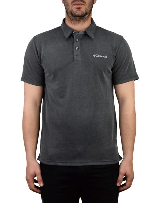 Columbia Nelson Point Polo (EO0035-011) Grey