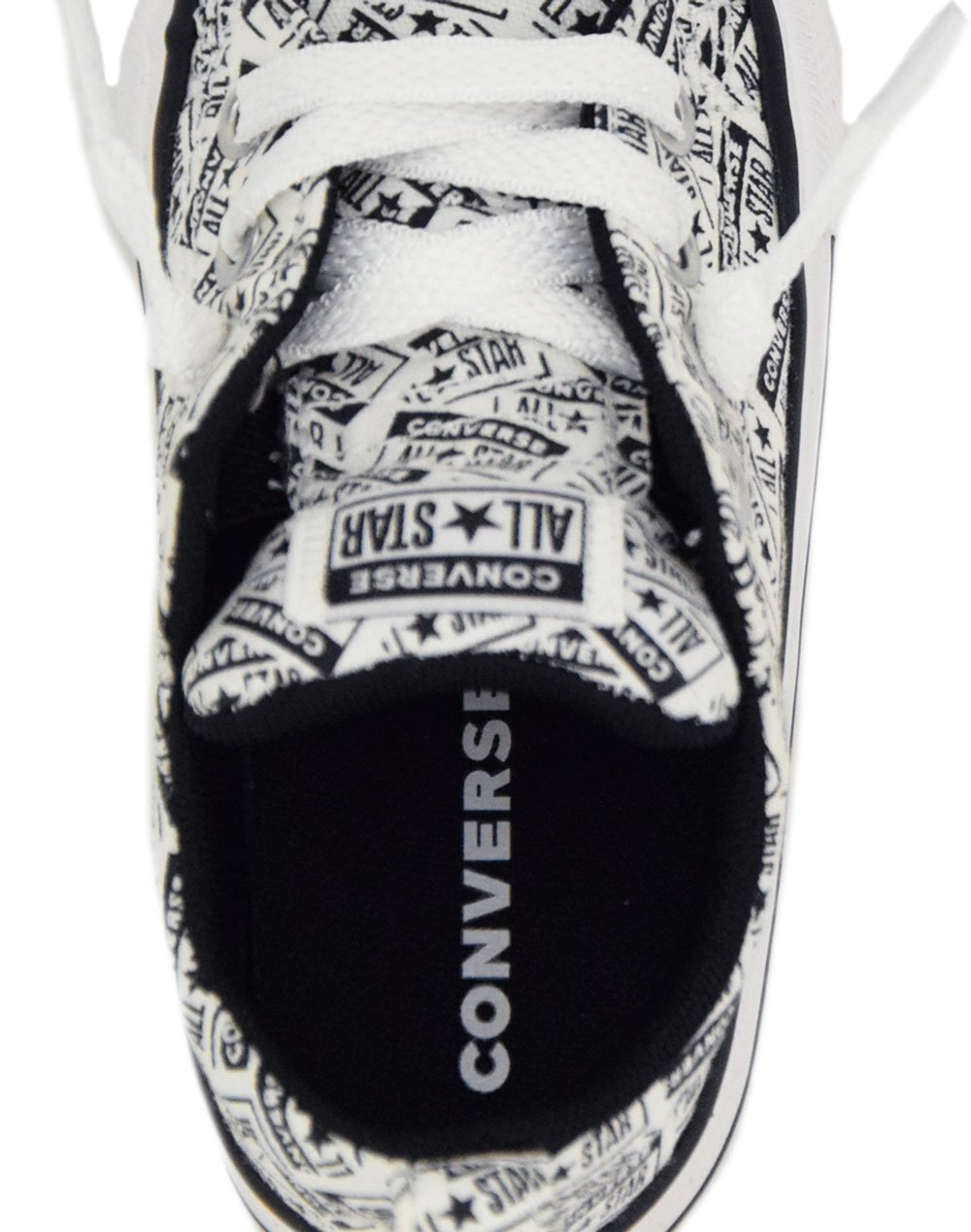 Converse All Star Chuck Street Licence Plate Slip-On (766906C) White/Black/White