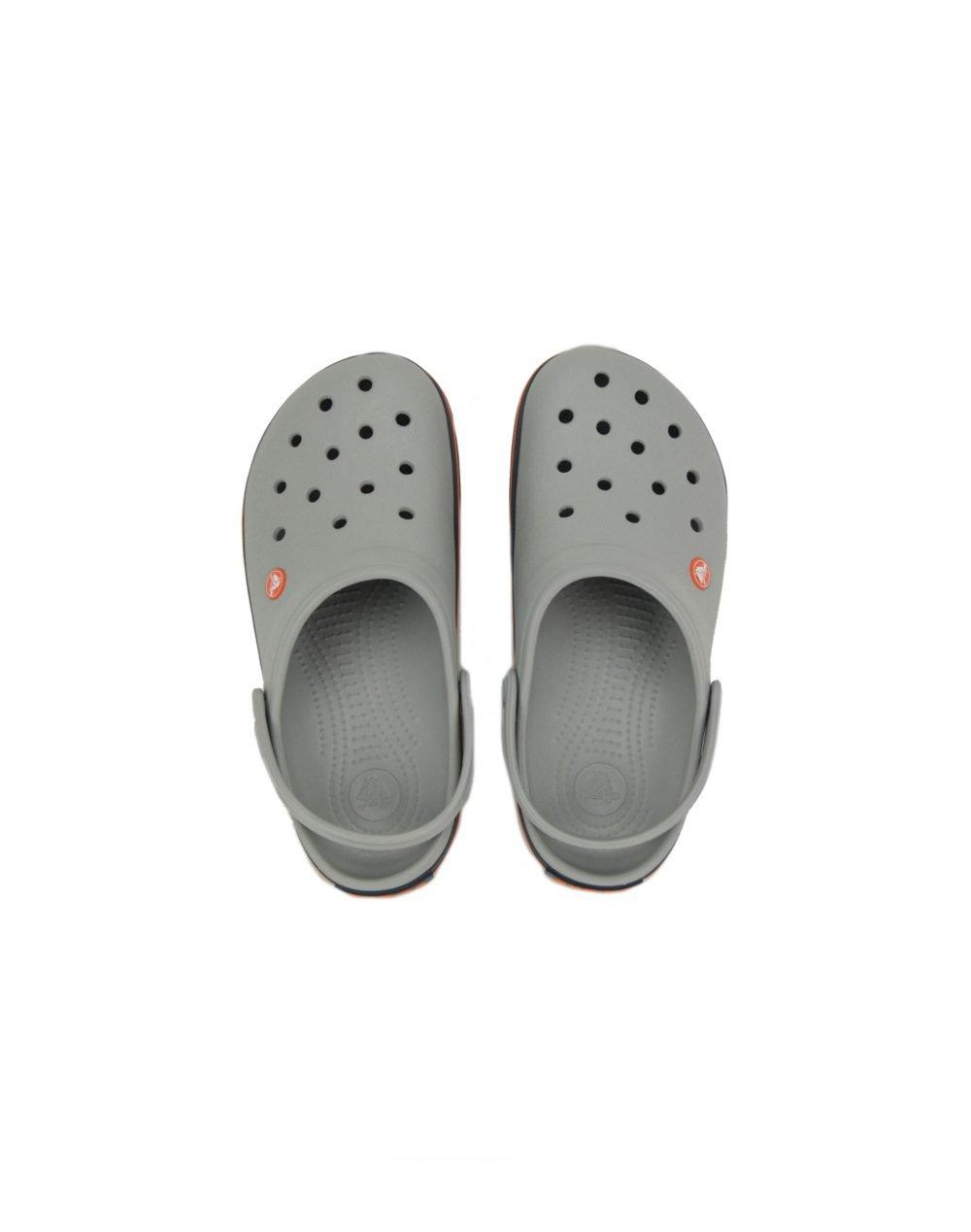 Crocs Crocband (11016-01U) Light Grey/Navy