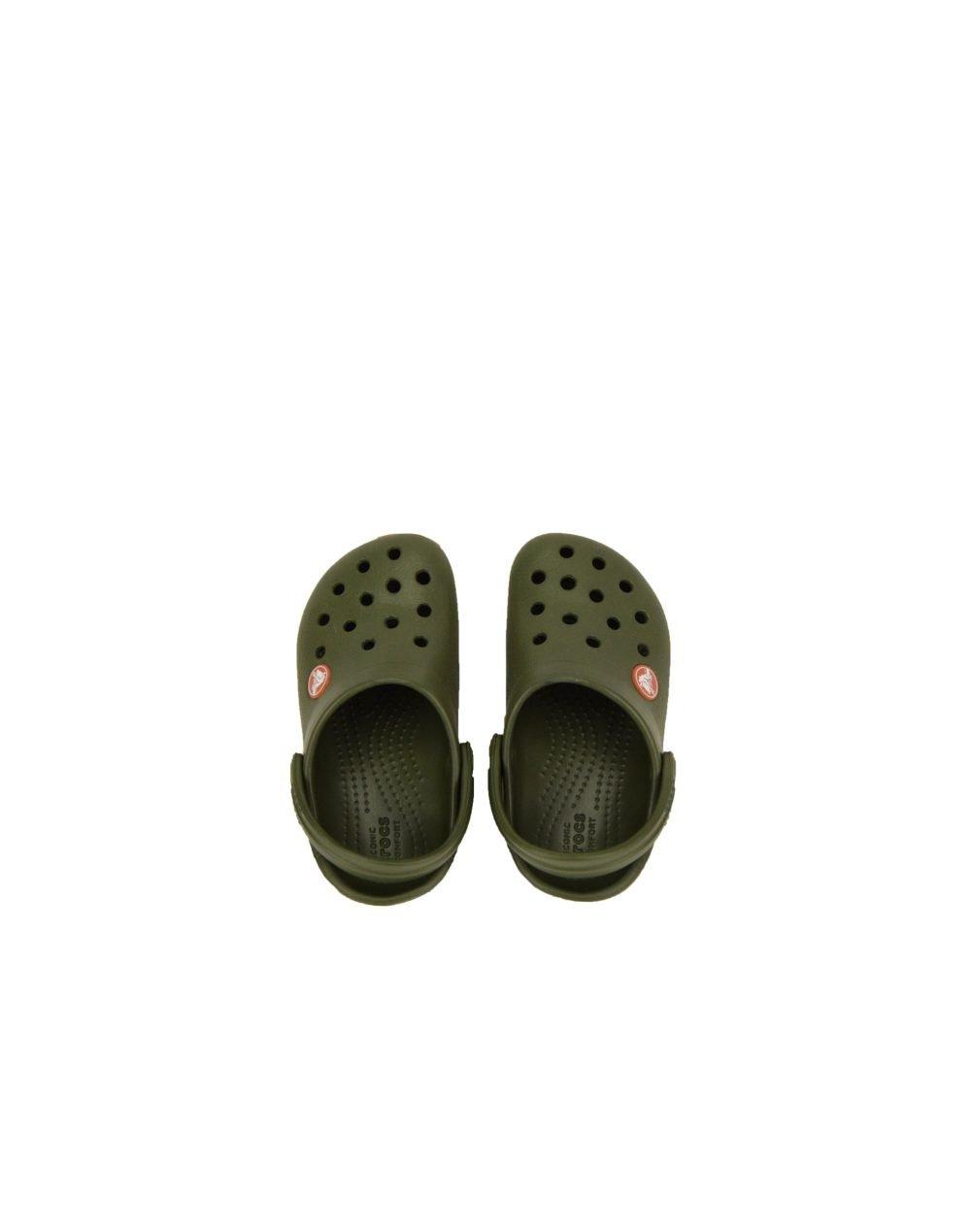 Crocs Crocband Clog Kids (204537-3TB) Army Green/Burnt Sienna