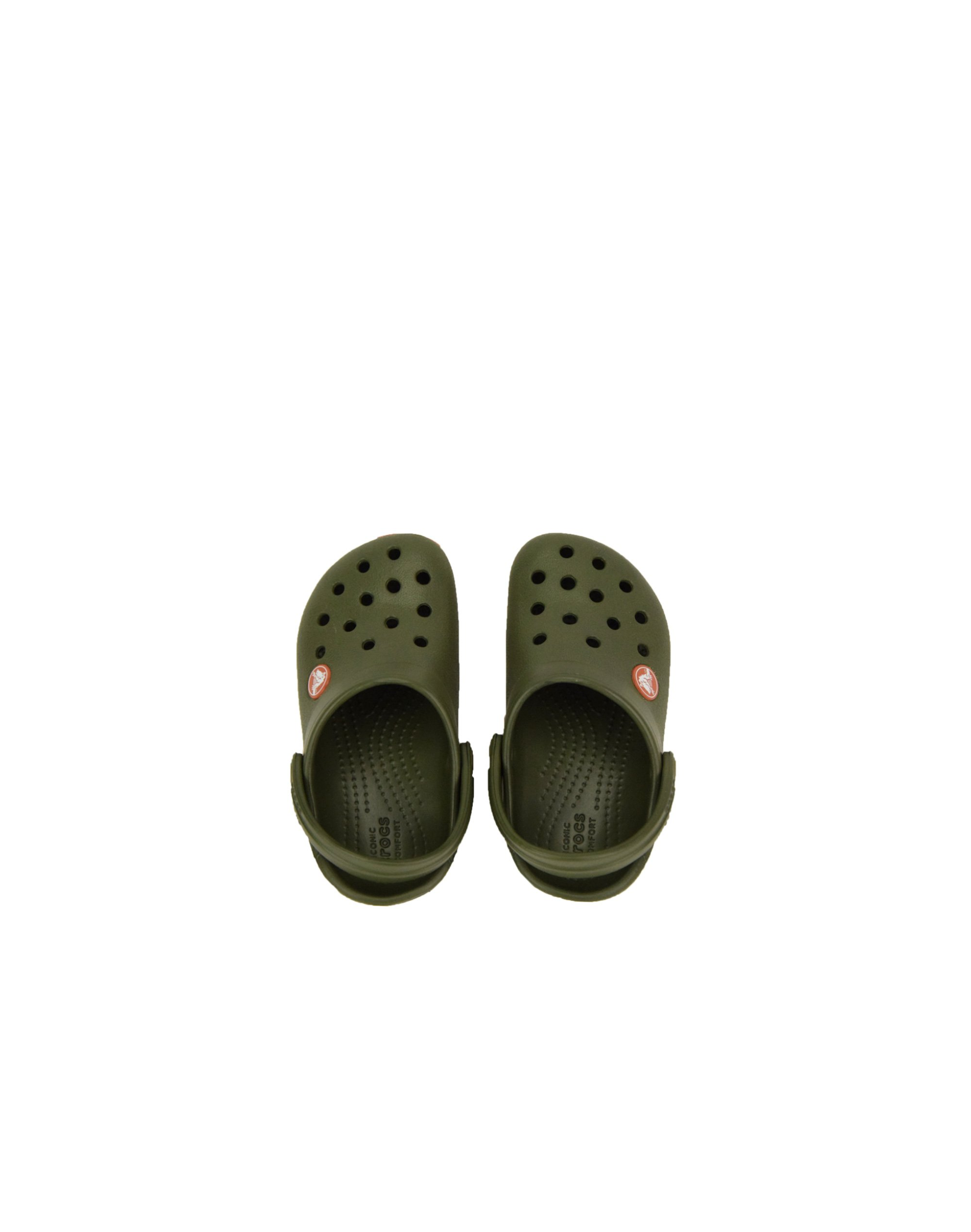 Crocs Crocband Clog Kids (204537-3TB) Army Green/Burnt Sienna