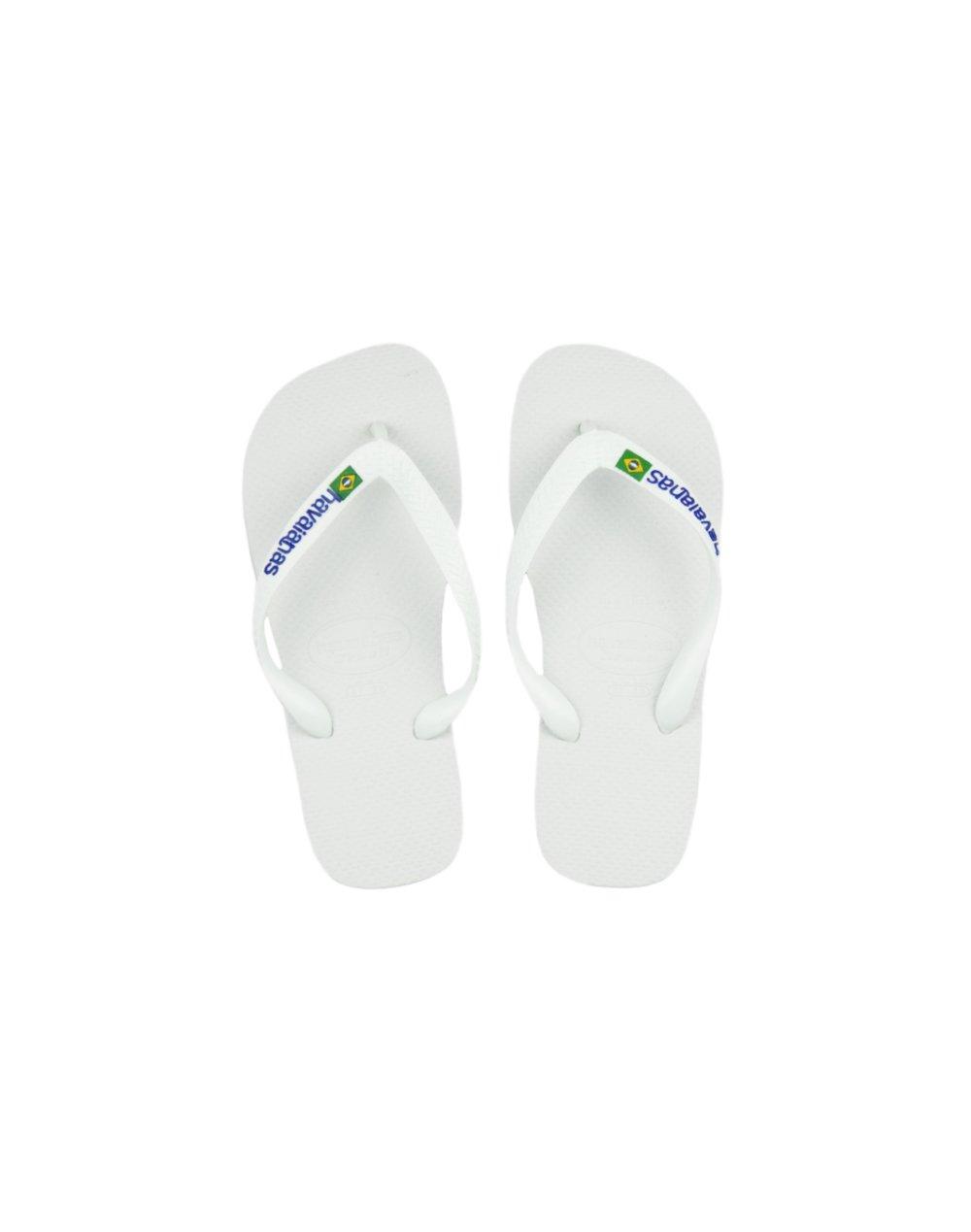 Havaianas Brasil Logo (4110850 0001) White